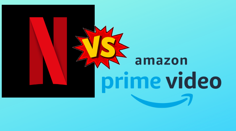 amazon prime vs Netflix In India