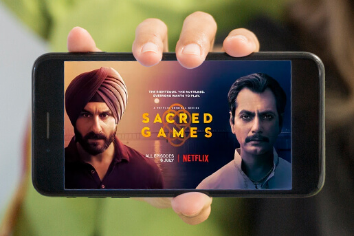 online web series in India
