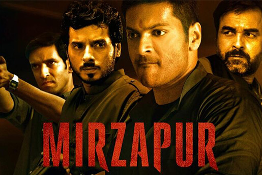 Mirzapur-best indian shows on amazon prime