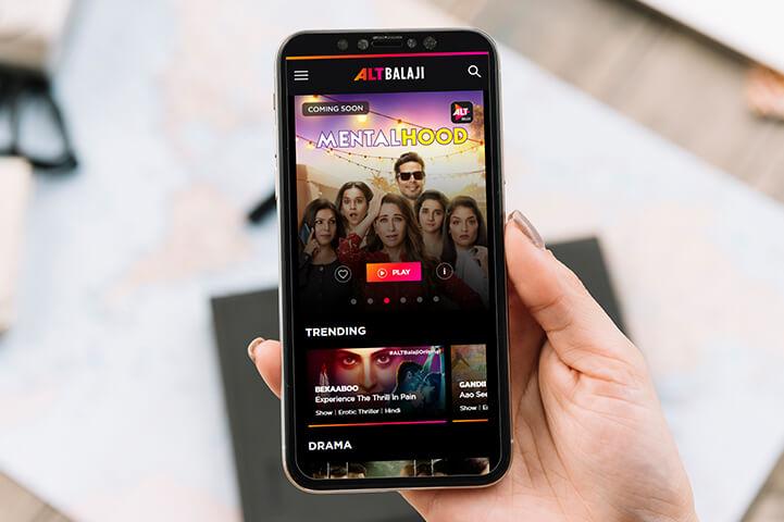 Alt Balaji App - best web series app