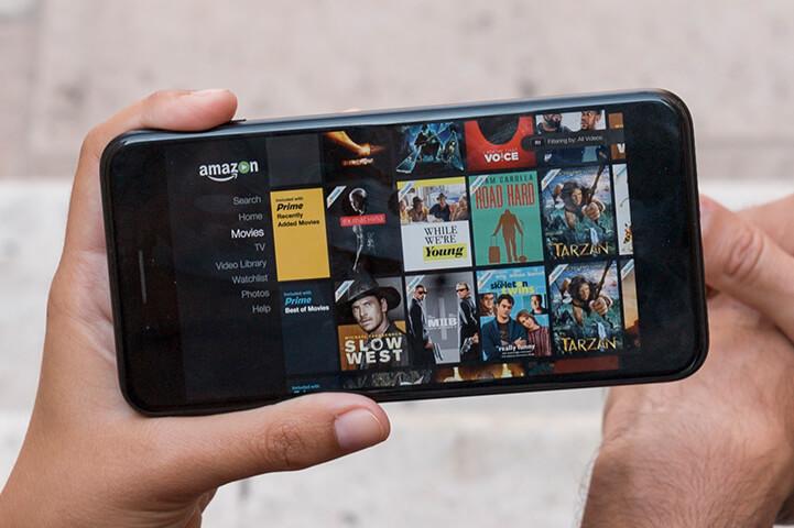 Amazon Prime - app to watch shows offline