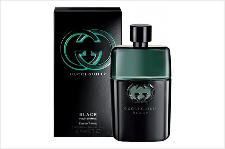 Gucci Guilty Black - Best perfume for men in india