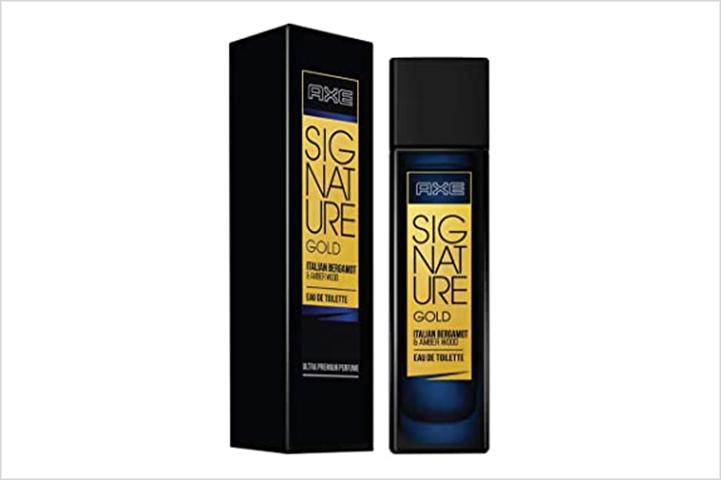 AXE Signature Gold Italian Perfume-best perfumes for men in india