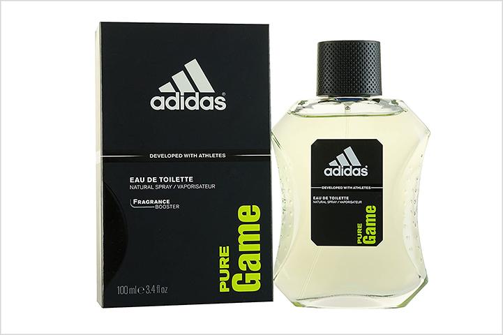 Adidas Pure Game Eau de Toilette-best perfumes for men in india