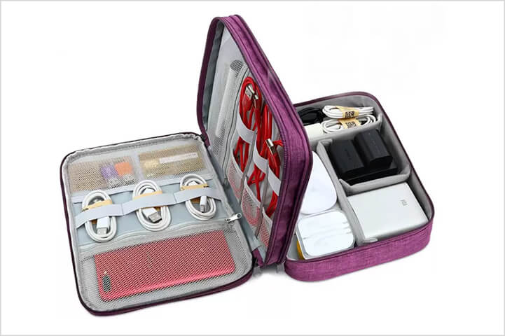 Divinext-Double-Layer-Travel-Digital-Bag-Electronic-Organizer