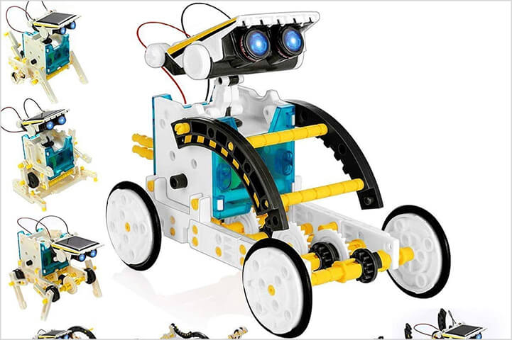 Magicwand 13 in 1 Educational Solar Robotic Kit for Kids