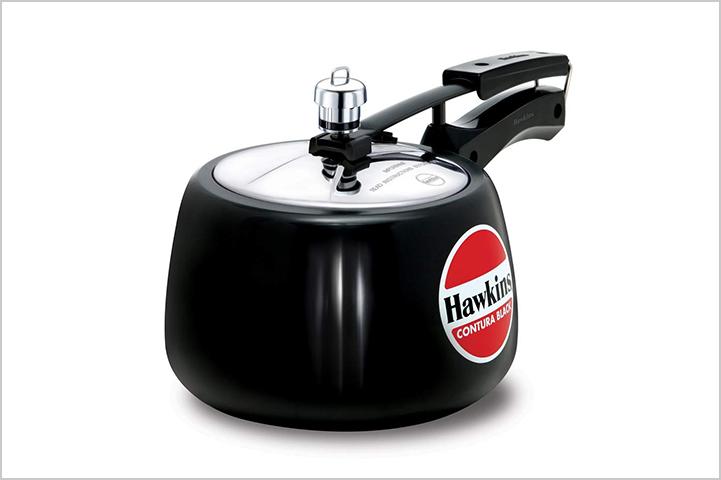 Hawkins-Contura-Hard-Anodised-Aluminium-Pressure-Cooker,-3-Litres