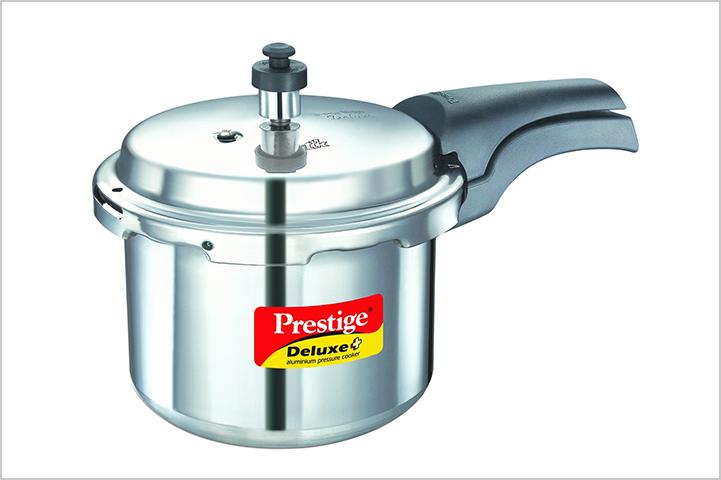 Prestige Deluxe Plus Induction Base Aluminium Pressure Cooker