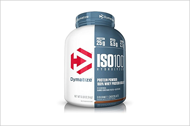 Dymatize ISO 100- best protein powders for women in India