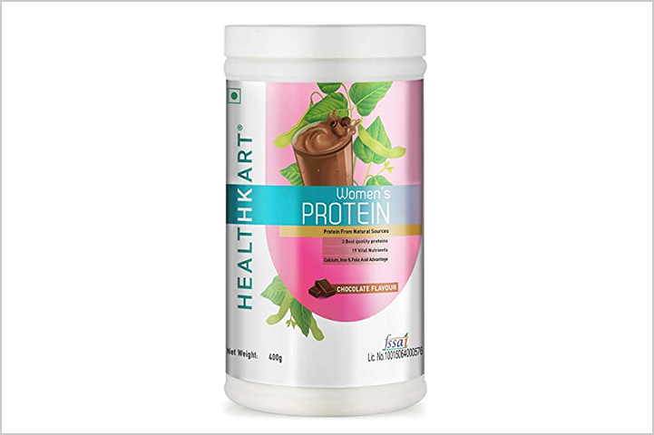Healthkart Women's Protein Powder- best protein powders for women in India