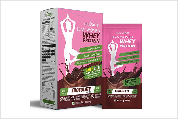 myDaily Lean Women Protein Powder- best protein powders for women in India