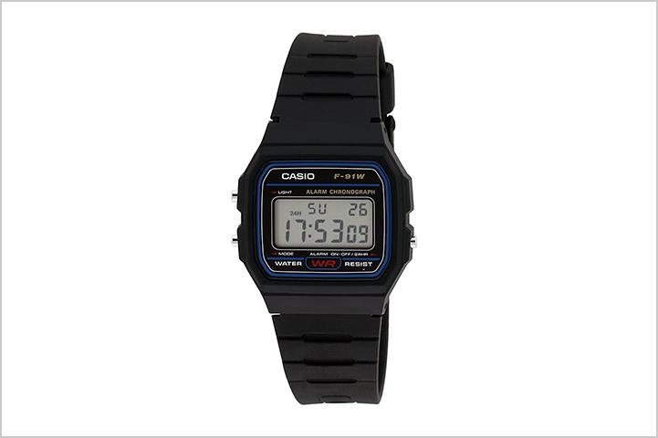Casio Youth Digital Black Small Dial Unisex Watch