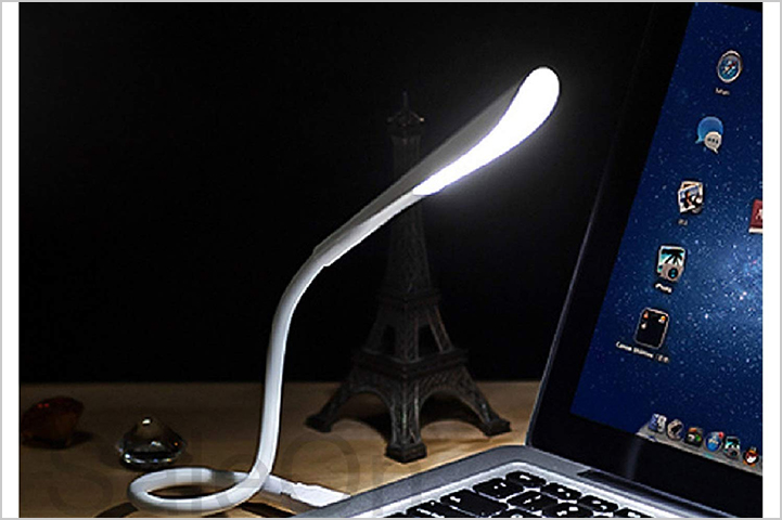 Portable USB LED Desk Lamp for Reading and Laptop