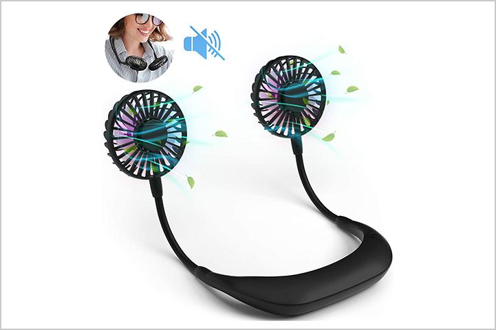 Portable Hanging Neck Fan