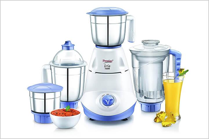 Prestige Iris 750-Watt Mixer Grinder-best mixer grinders in India