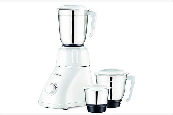 Bajaj Easy 500-Watt Grinder with 3 Jars-best mixer grinders in India