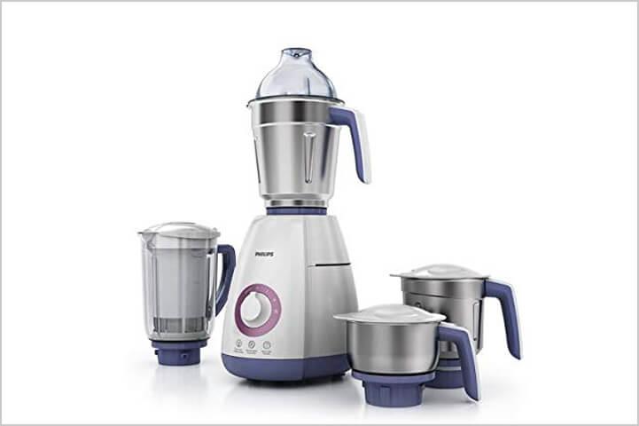 Philips Viva Collection HL7701/00 750-Watt Mixer Grinder with 4 Jars-best mixer grinders in India