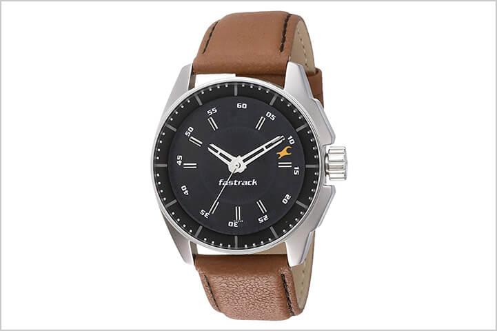 Fastrack Men's Watch – NK3089SL05-Best Watches For Men