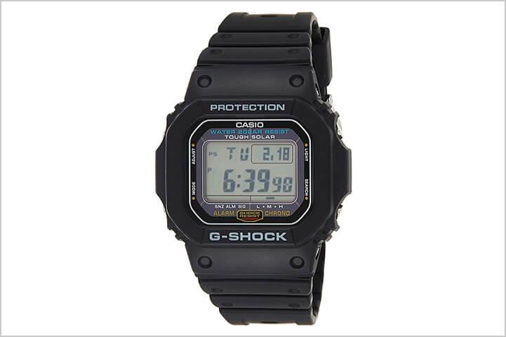 Casio G-Shock Digital Black Dial Men's Watch – G-5600E-1DR (G671)-Best Watches For Men