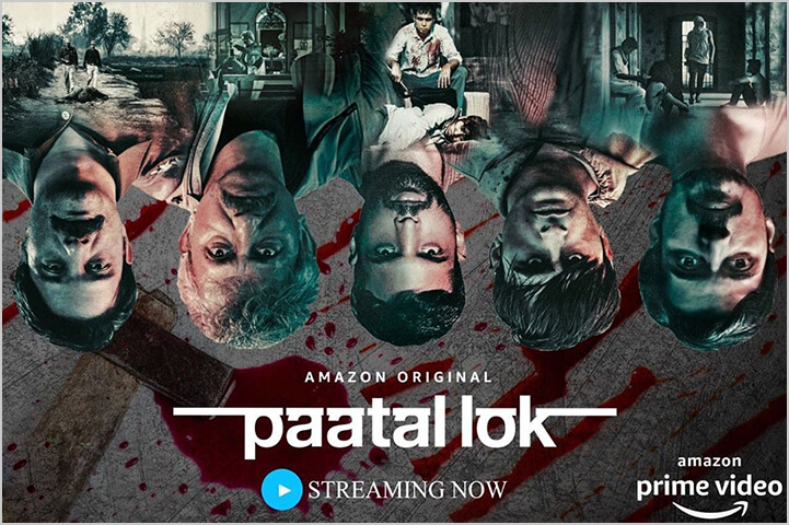 Paatal Lok-best indian shows on amazon prime