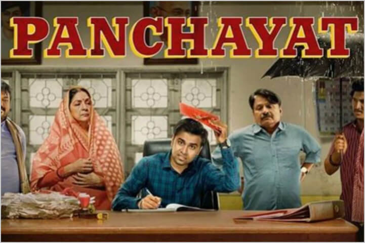 Panchayat-best indian shows on amazon prime