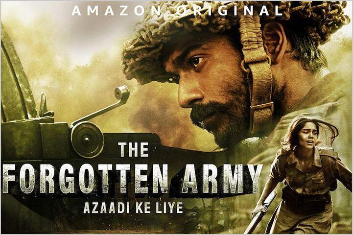 The Forgotten Army-Azaadi Ke Liye-best indian shows on amazon prime