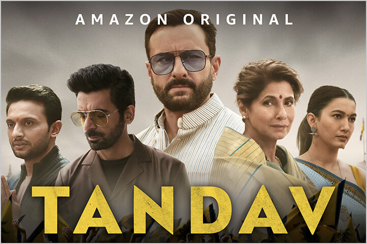 Tandav-best indian shows on amazon prime