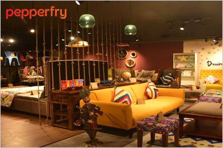 Pepperfry-Best Sites to Buy Furniture