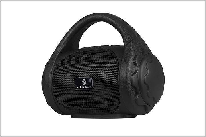 Zebronics Zeb-County Bluetooth Speaker with Built-in FM Radio-Best Bluetooth Speakers in India