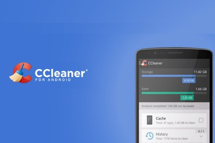 CCleaner-Best Android Phone Cleaner App