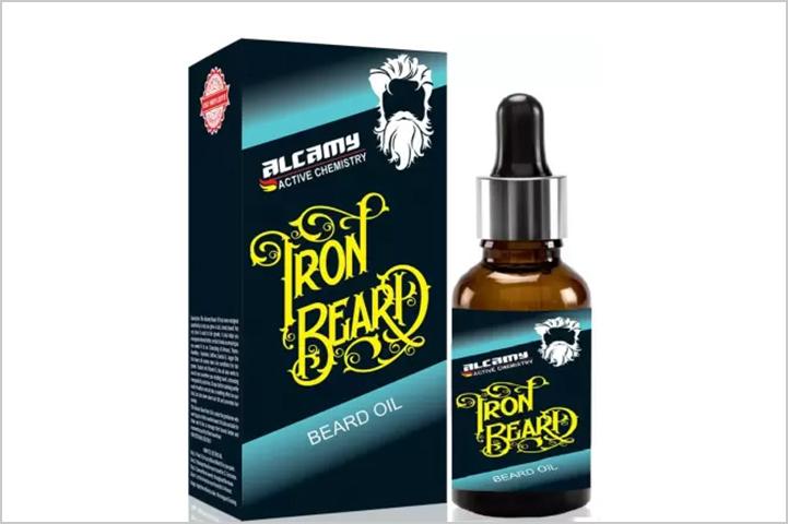 Alcamy Iron Beard Growth Oil-Best Beard Oil in India