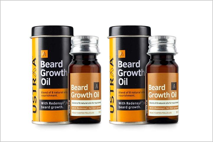 Ustraa Beard Growth Oil With Redensyl-Best Beard Oil in India
