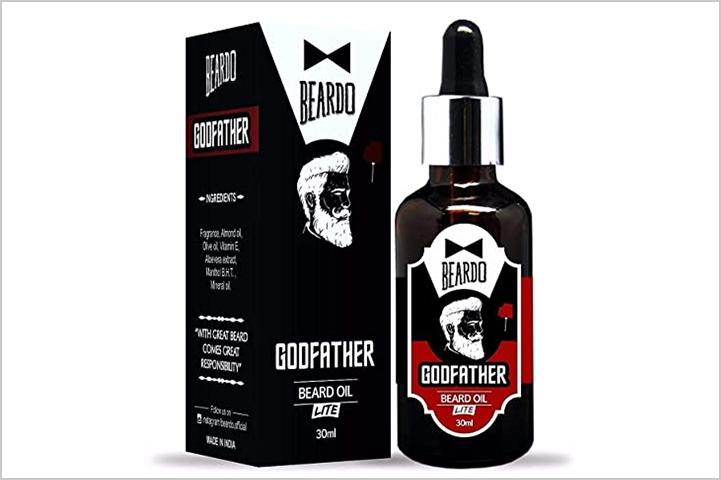 Beardo Godfather Beard Oil-Best Beard Oil in India
