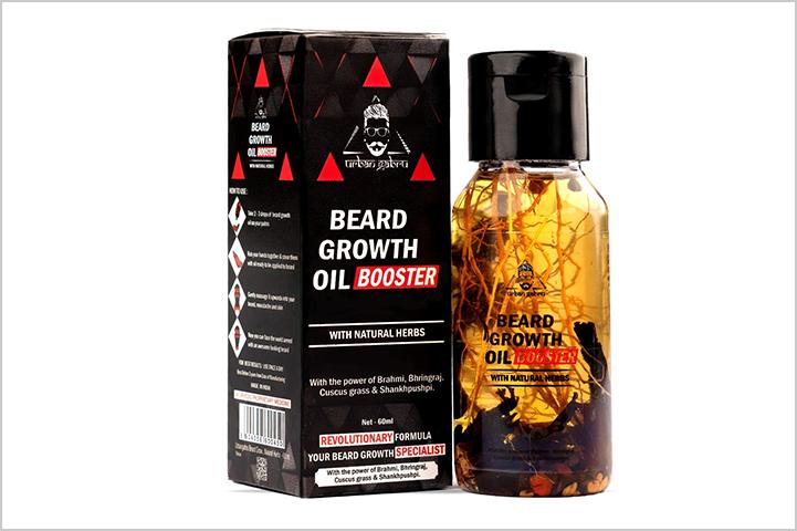 Urbangabru Beard Growth Booster Oil-Best Beard Oil in India