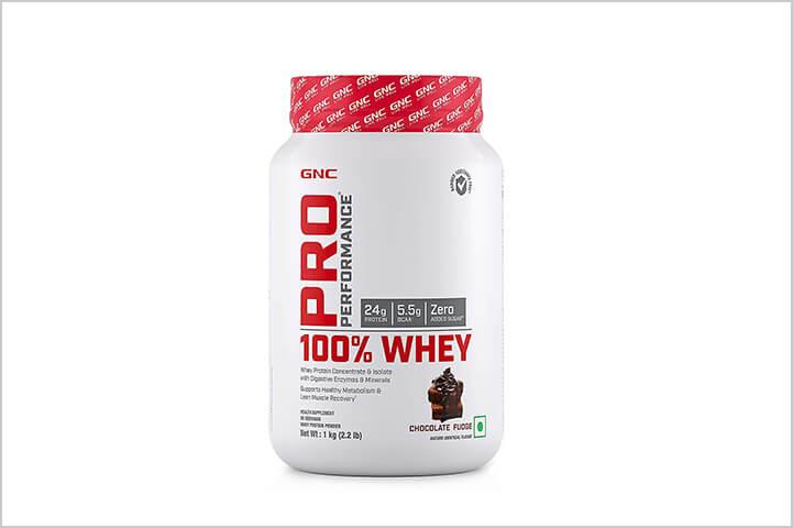 GNC Pro Performance 100%-Best Protein Powders For Men