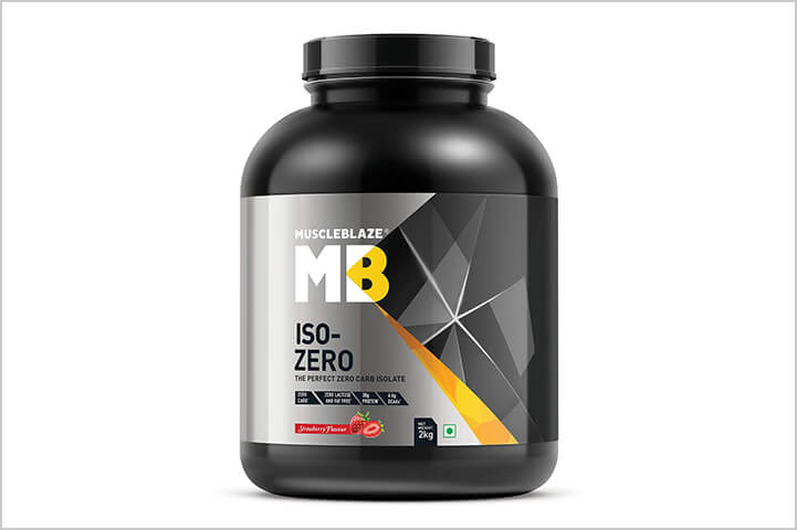 Muscleblaze Iso-zero Zero-carb 100%-Best Protein Powders For Men