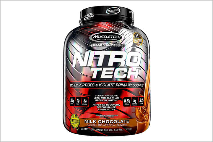 Muscletech Series Nitro Tech Whey Protein Peptides-Best Protein Powders For Men