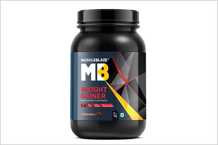 MuscleBlaze Weight Gainer-Best Protein Powders For Men