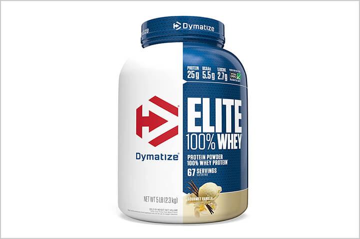 Dymatize Nutrition Elite Whey Protein Powder-Best Protein Powders For Men